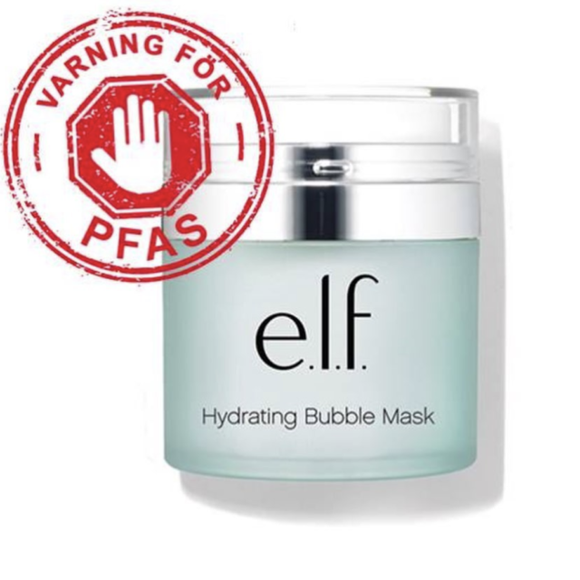Hydrating Bubble Mask innehåller PFAS