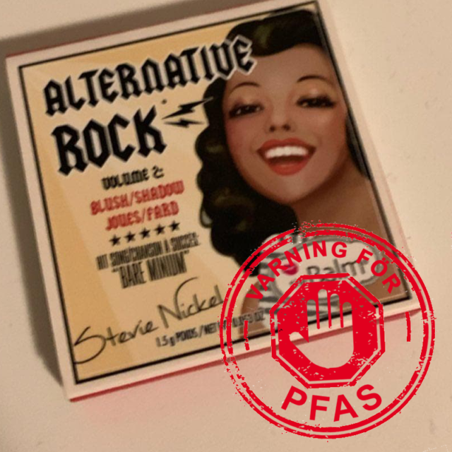 The Balms Alternatiive Rock har PFAS