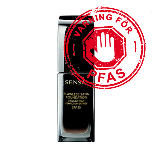 PFAS Sensai flawless satin foundation