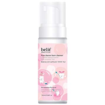 Belif Pore Cleaner Bubble Foam har PFAS